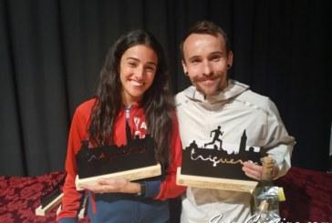 Choquert, campeón del mundo de duatlón gana en Trigueros, Zenobia Benítez vence en féminas