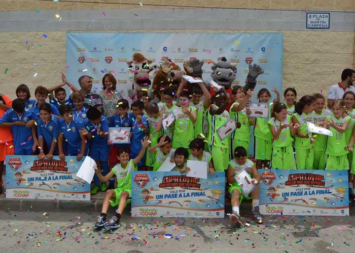 El Baloncesto y el Fútbol isleño participarán en la VIII edición Copa Covap