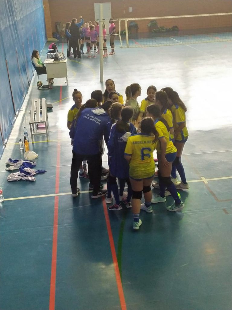 Resumen jornada Club Voleibol Isla Cristina