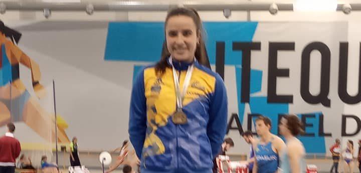 Alba Pérez ORO en el Campeonato de Andalucía Absoluto