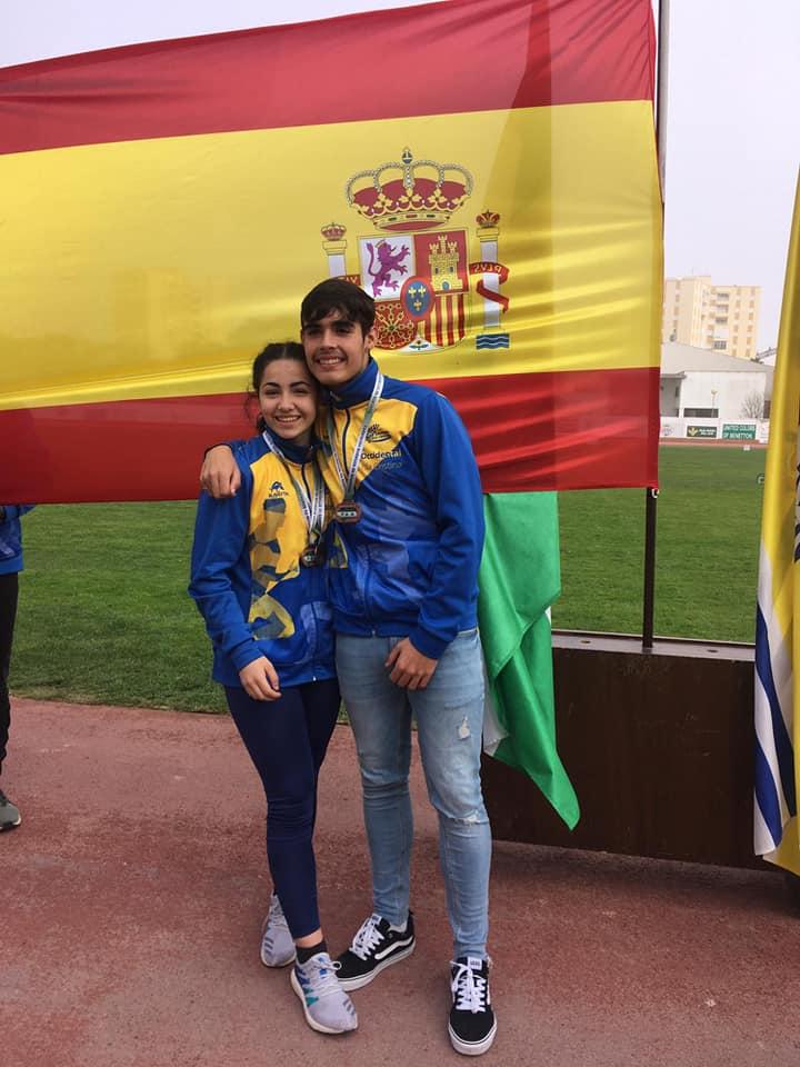 Francisco Santana e Inés Sequera por el oro del Nacional de Lanzamientos