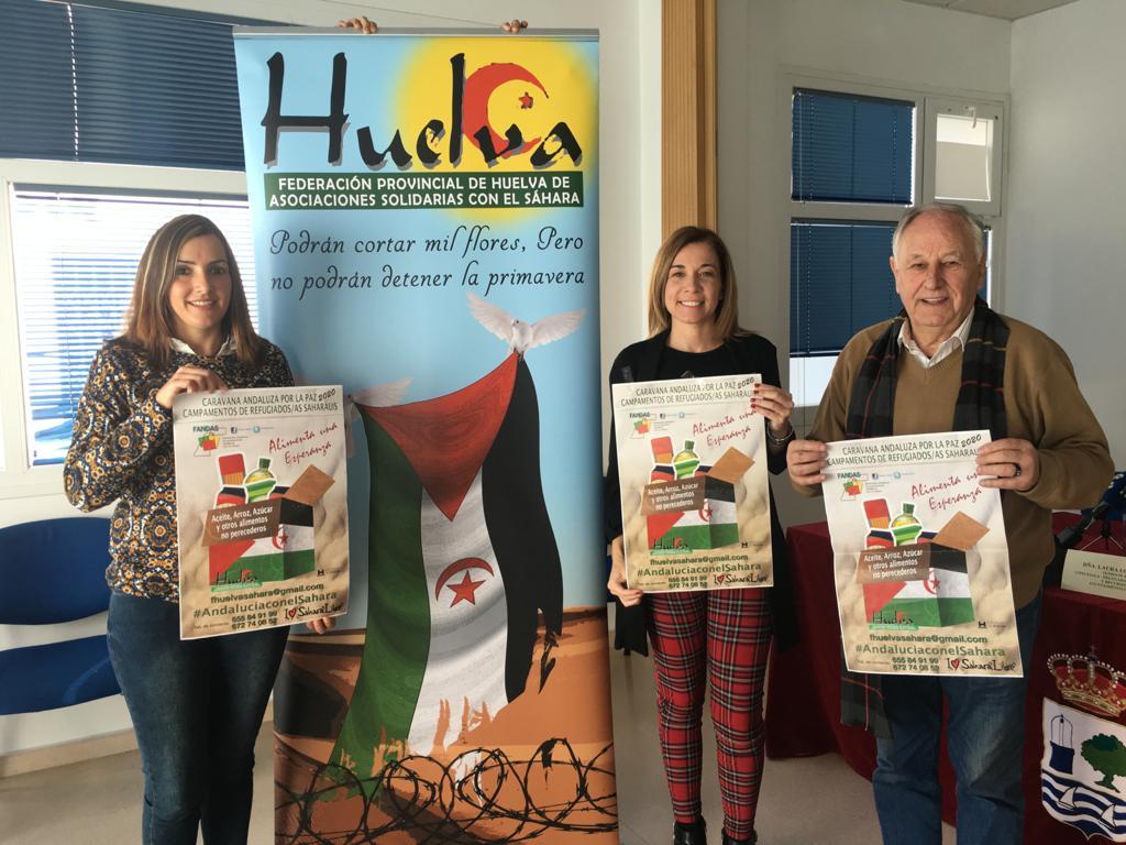 Presentada la Campaña Caravana por la Paz en Isla Cristina