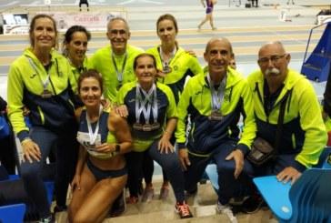 Los veteranos logran 17 galardones del Campeonato de Andalucía Máster