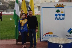 Exito de los atletas isleños en el Andaluz de Lanzamientos Largos celebrado en la localidad_