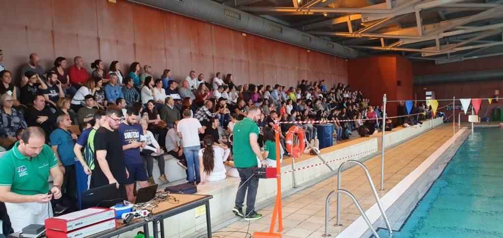 La natación protagonista en Isla Cristina con la Provincia en Juego
