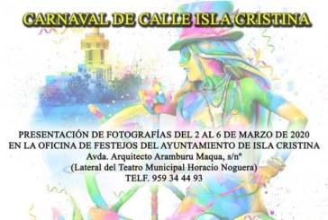 El Ayuntamiento de Isla Cristina convoca el II Concurso de fotografías 'El Carnaval en la Calle'
