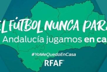 «El fútbol no se para, Andalucía juega en casa»