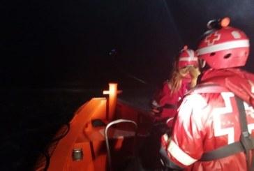 Rescate de Cruz Roja adscrita a Salvamento Marítimo con base en el puerto de Isla Cristina