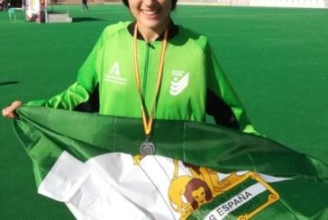 La isleña María del Rocío Álvarez Martín logra el subcampeonato de España con la Selección Andaluza Sub 14
