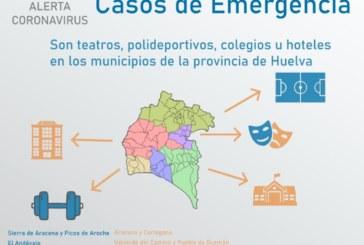 Diputación coordina con los ayuntamientos de la provincia la cesión de espacios para casos de emergencia