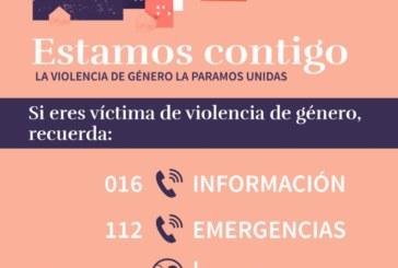 Campaña «Estamos contigo, la violencia de género la paramos unidas»