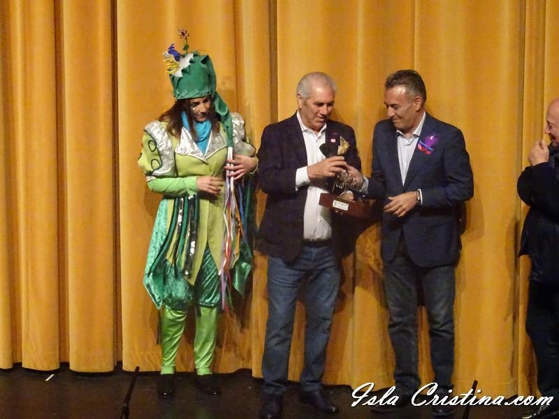 Entrega Premio Horacio Noguera, y Gran vía de Oro. Carnaval de Isla Cristina 2020