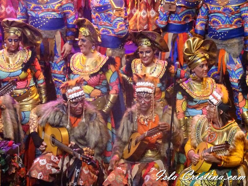 Imágenes del Concurso de Agrupaciones Carnaval de Isla Cristina 2020