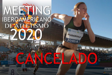 Cancelado el Meeting Iberoamericano de Atletismo