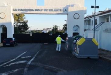 Mancomunidad intensifica el tratamiento de desinfección en la zona alta de Islantilla