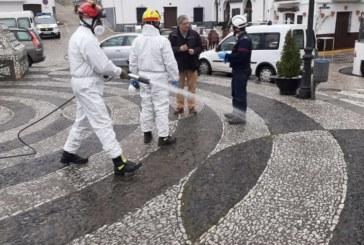Diputación refuerza la desinfección de los municipios