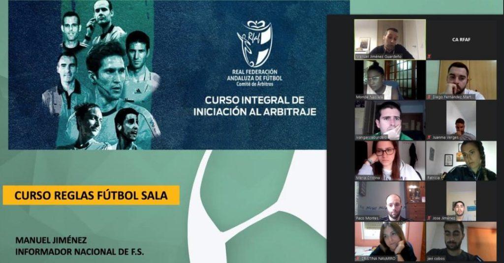 Los árbitros andaluces de Tercera División; División de Honor y todas las árbitras han recibido formación
