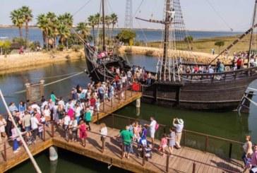 El Muelle de las Carabelas se prepara para poder abrir el 25 de mayo