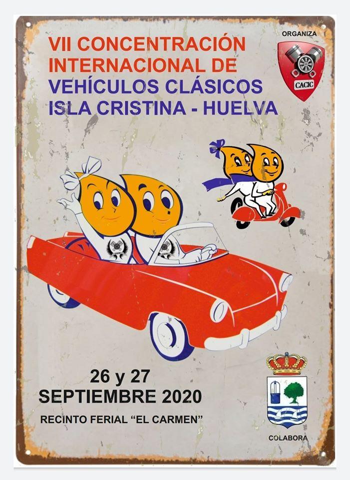VII Concentración Internacional de Vehículos Clásicos de Isla Cristina