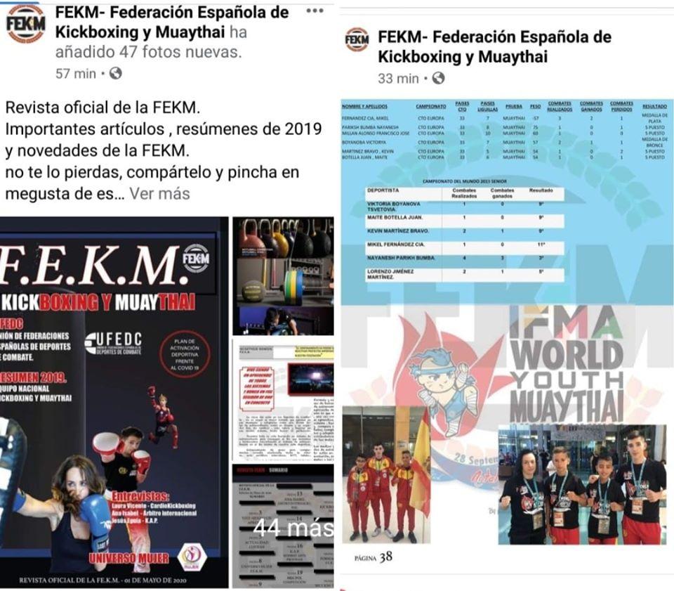 La lucha isleña en portada de la Federación Española