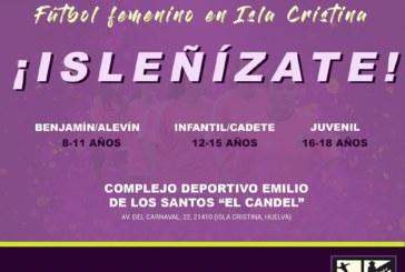 Campaña de captación del Atlético Isleño Féminas de fútbol