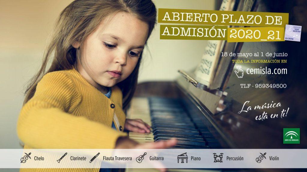 Sigue abierto el plazo de admisión del Conservatorio Elemental de Música Vicente Sanchís Sanz