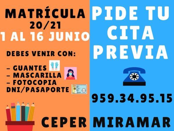 Isla Cristina: Plazo matriculación de educación de adultos