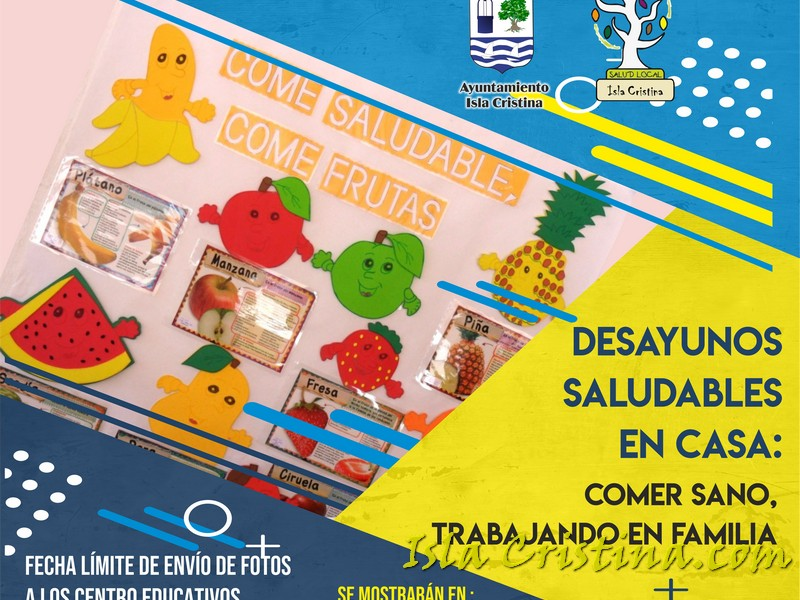 Isla Cristina pondrá en marcha la Campaña 'Desayunos Saludables' en las Redes Sociales