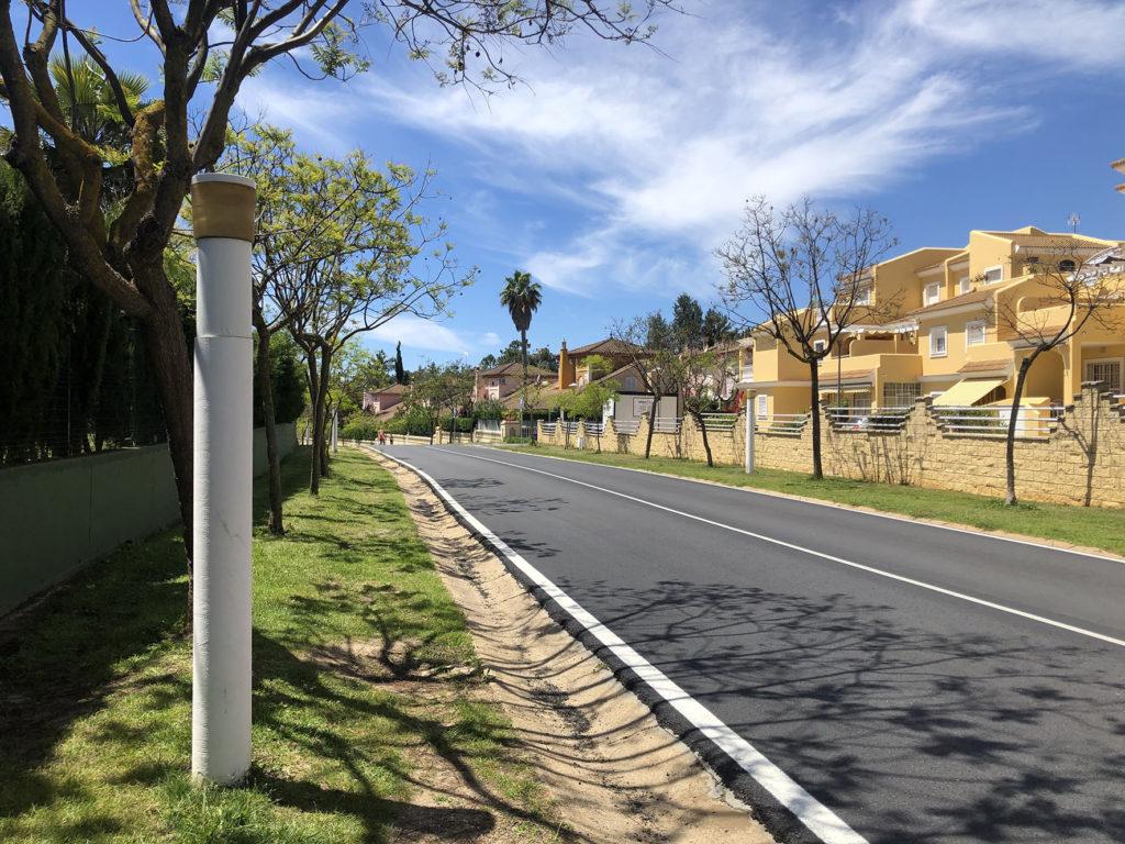 Proyecto de mejora y eficiencia energética del alumbrado público en Islantilla
