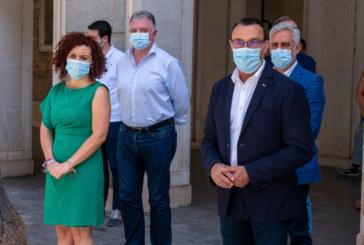 La Diputación de Huelva se suma al minuto de silencio en memoria de las víctimas del coronavirus