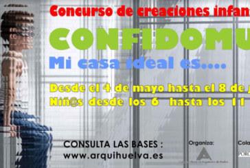 El Colegio de Arquitectos de Huelva invita a los niños a crear su casa ideal