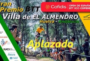 Aplazado el Campeonato de Andalucía BTT XCO 2020 en El Almendro