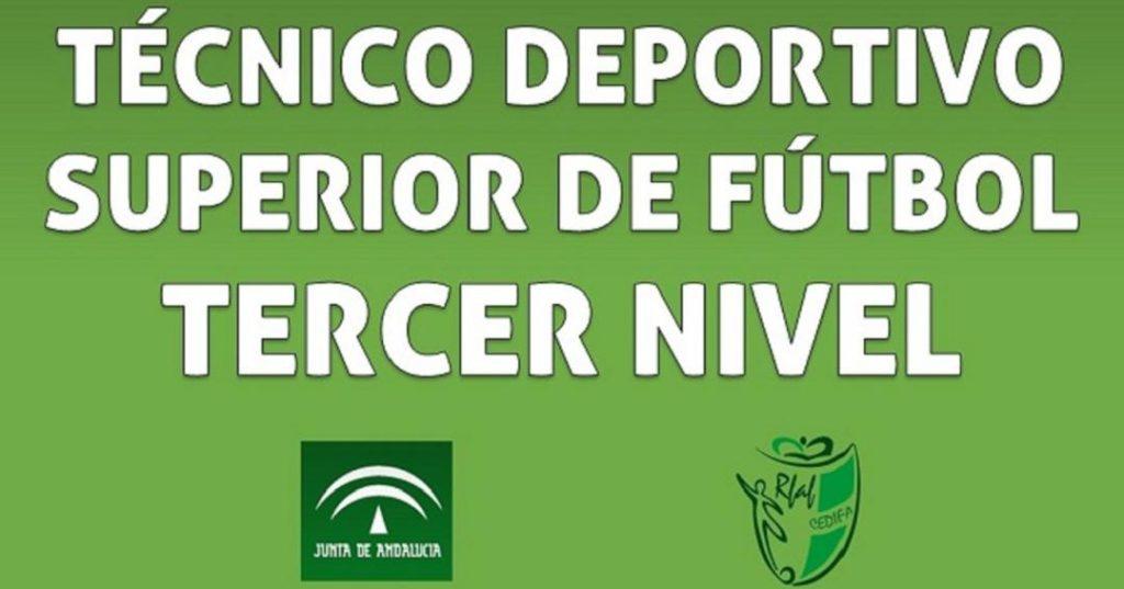 Inscripciones abiertas para el tercer nivel de fútbol hasta el 30 de septiembre
