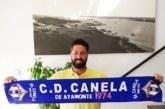 El entrenador isleño Javi Jiménez se compromete con el C.D. Canela de Ayamonte