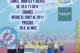 En Marcha la Escuela de Verano del Club de Atletismo Isla Cristina