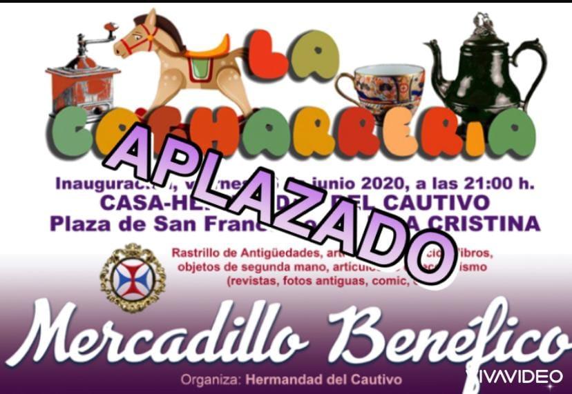 Aplazado el Mercadillo Benéfico a celebrar en Isla Cristina