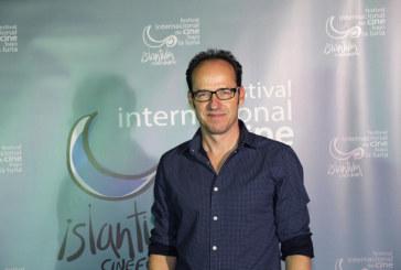 Esteban Magaz y el Compositor Pablo Cervantes en «Las Mañanas Isleñas» de Radio Isla Cristina