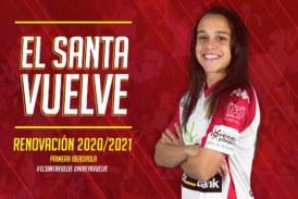 La internacional isleña Mireya García renueva con el Liberbank Santa Teresa Badajoz