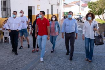 Caraballo subraya el apoyo de la Diputación a los ayuntamientos de la provincia en la reconstrucción post-Covid
