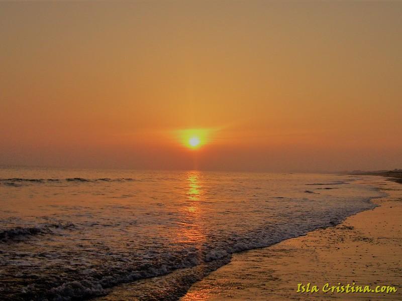 Isla Cristina: Una puesta de sol que bien vale un viaje