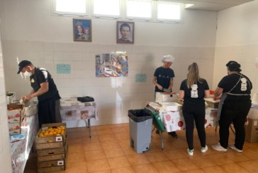 Cocina solidaria de la Asociación Juvenil Carabela