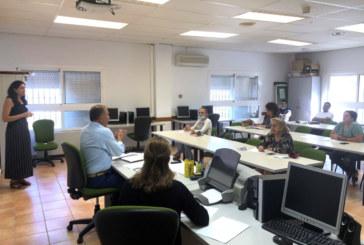Reunión para diseñar el XXIII Plan Agrupado de Formación Continua de Islantilla, Lepe e Isla Cristina