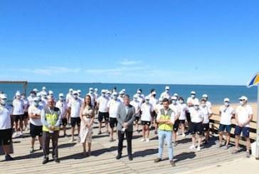 La Junta presenta en Huelva el Plan de Playas Seguras, que contará con 476 auxiliares y 2.053 pasarelas