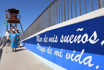 Las playas urbanas de Isla Cristina registran aforo completo durante el fin de semana