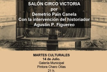 Presentación en Isla Cristina de la Maqueta «Salón Circo Victoria»