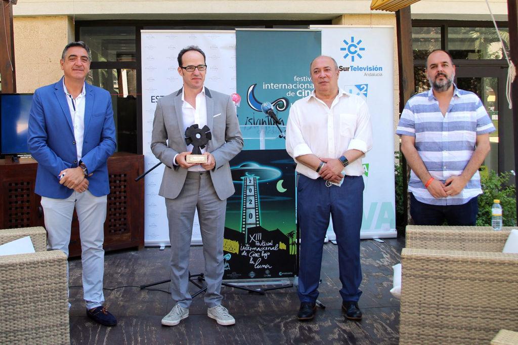 Acto inaugural del Festival de Islantilla y entrega del Premio 'Francisco Elías' a Pablo Cervantes