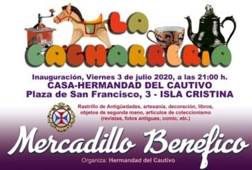 Inauguración del Mercadillo Benéfico en Isla Cristina