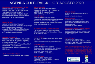 Programación Cultural Isla Cristina verano 2020