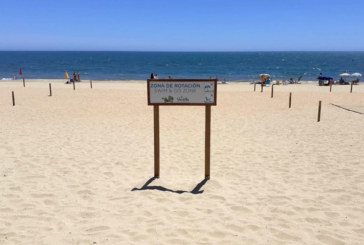 Islantilla crea una Zona de Rotación para el baño en la playa