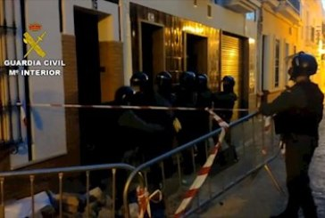 Doce detenidos en nueve registros en Isla Cristina, Lepe-La Antilla e Islantilla